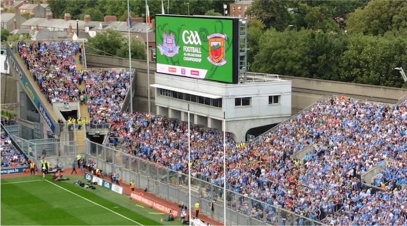 All-Ireland semi-final 2015 Hill and Nally terrace