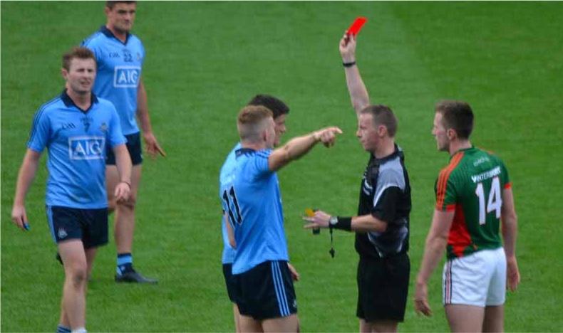 Diarmuid Connolly red card