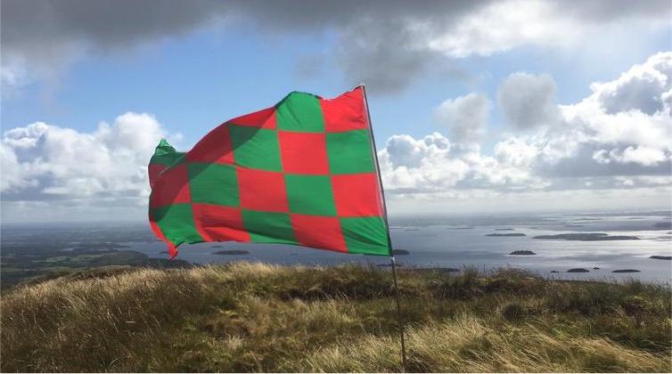 Mayo flag Mt Gable