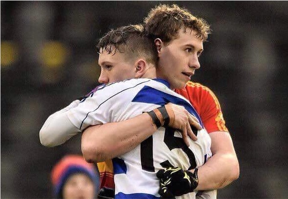 Eoghan and Tommy O'Reilly