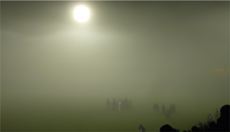 Where the fog are we