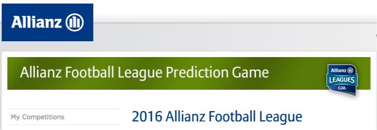 Allianz Predicition League 2016