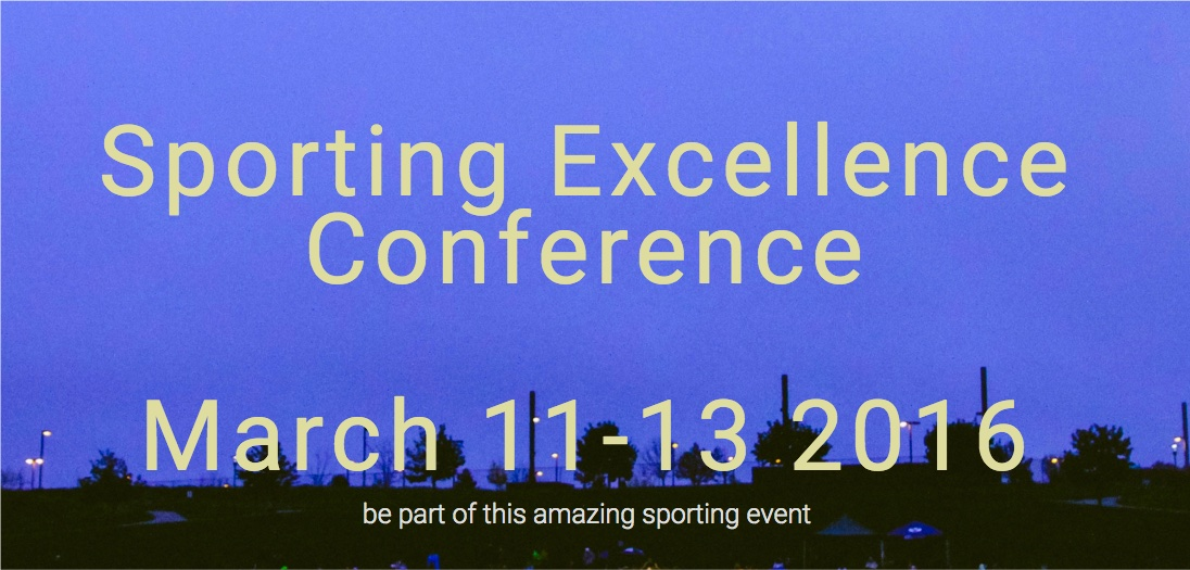 Sporting excellence conference
