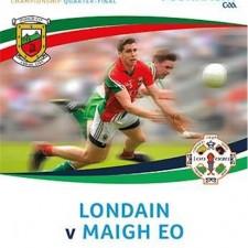 London Mayo Match Programme 2016