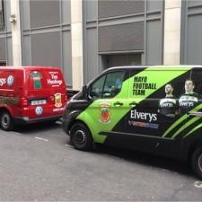 Mayo vehicles in London