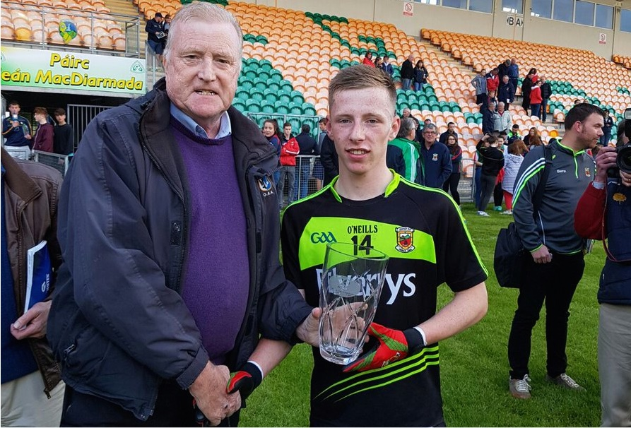 Ryan O'Donoghue MOTM award
