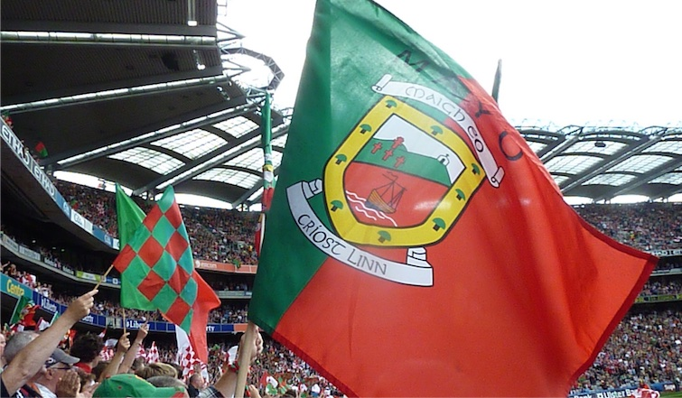 Mayo flag at Croke Park