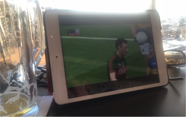 ipad and pint
